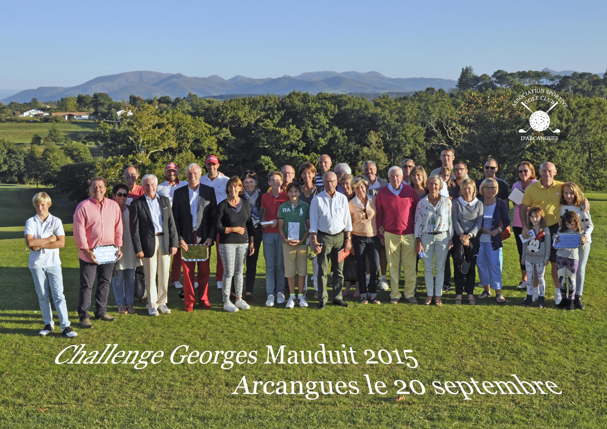 Challenge Georges Mauduit 2015