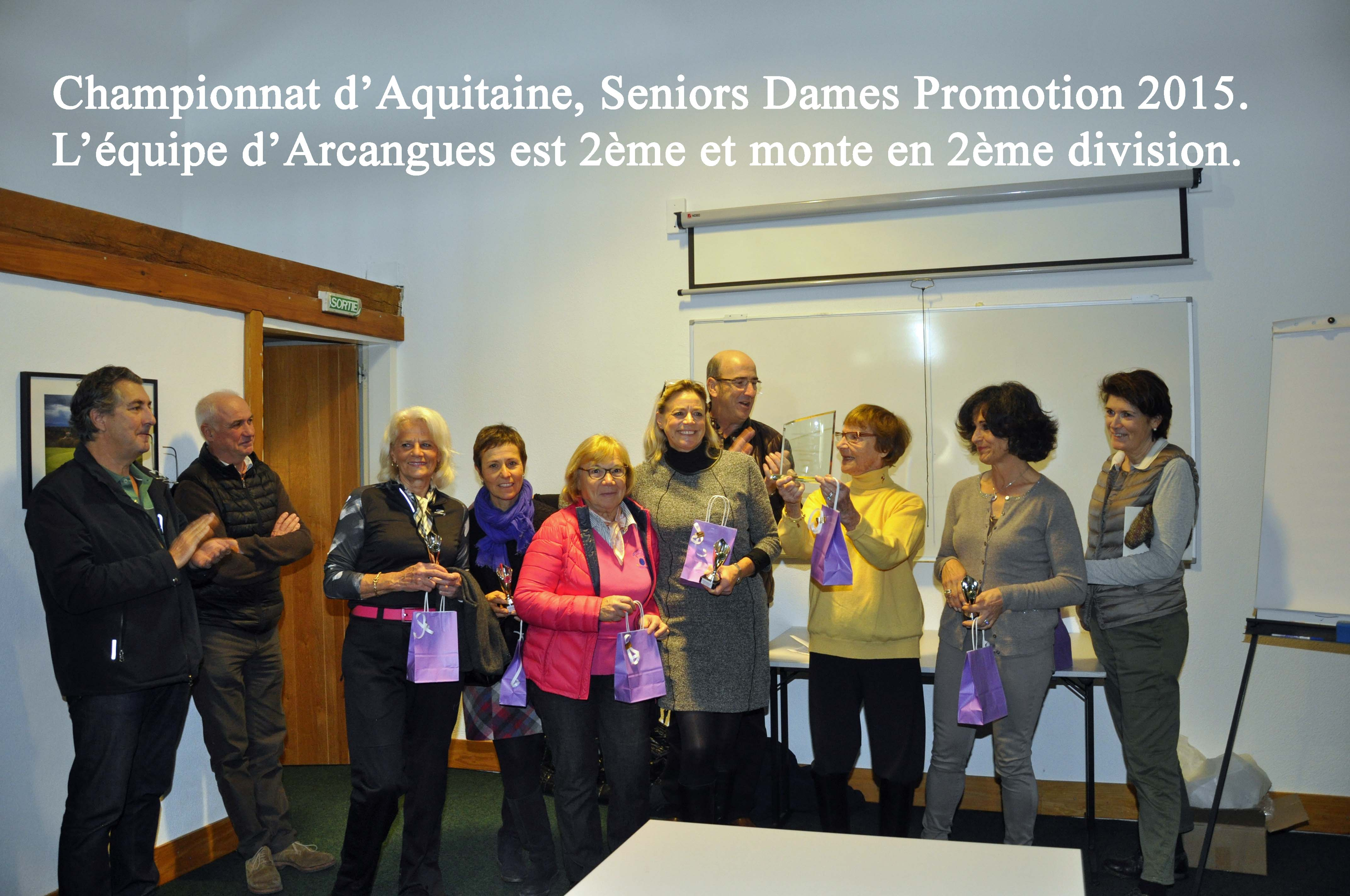Aquitaine seniors dames web